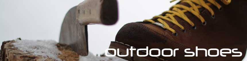 Outdoor and trekking boots for her and him