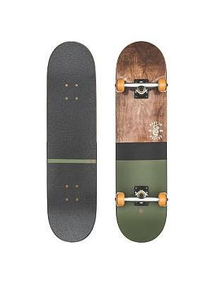 dark maple/hunter green