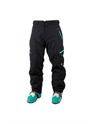 black/turquoise L