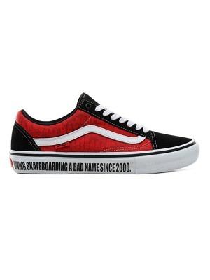 black/white/red 40.5/8