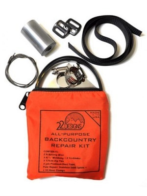 22Designs Notfall Backcountry Reparatur Set