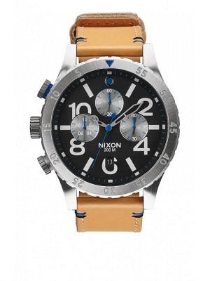 Nixon 48-20 Chrono Leather natural