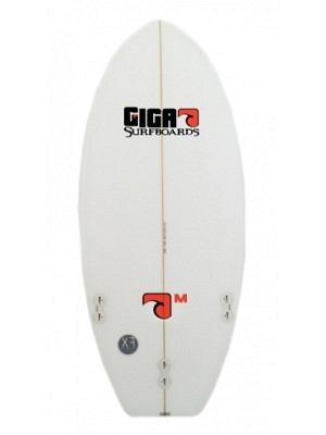 "Giga Model 'M' Surfboard 5'02"" - FCS Fusion - incl. Board Cover"
