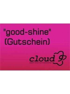 Cloud 9 Gutschein / Voucher CHF 20.-