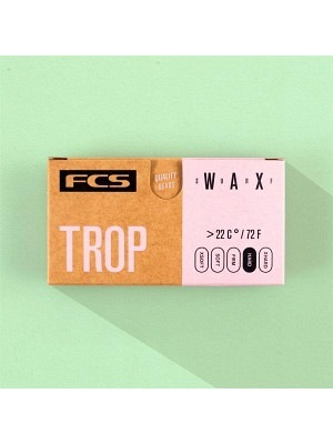 FCS Wax Tropical >22° - Hard