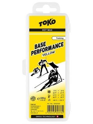 Toko Hot Wax Base Performance Yellow 0°C/-6°C