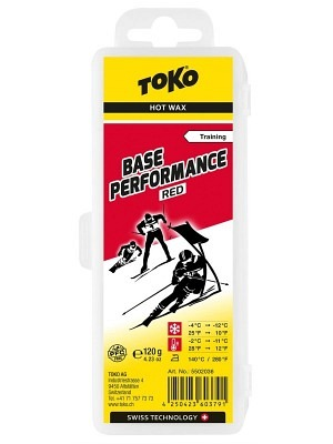 Toko Hot Wax Base Performance Red 4°C/-12°C
