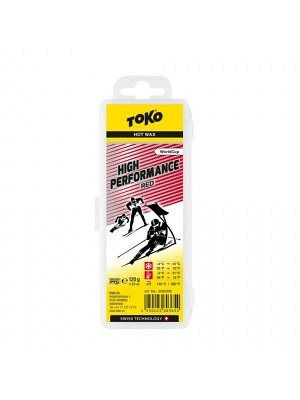 Toko Hot Wax High Performance Red 4°C/-12°C