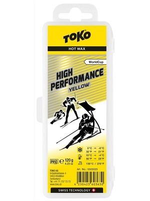 Toko Hot Wax High Performance Yellow 0°C/-6°C