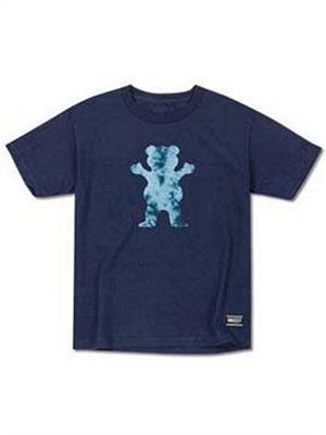 Grizzly OG Bear Crystal Tie Dye Cubs T-Shirt