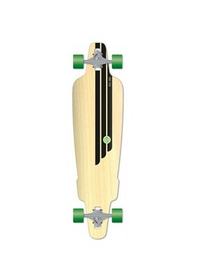 Flying Wheels Carving Skateboard 38,5 Rig Natural