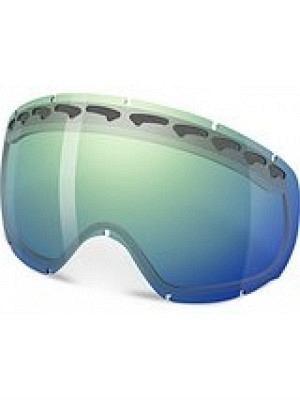 Oakley Oakley Crowbar Dual Vent Austauschglas - Blue Iridium