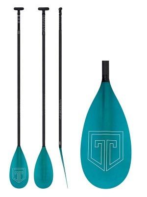 Trident 2-piece Fibre Glass/Carbon Paddle M/L 669 Lever Lock - adjustable