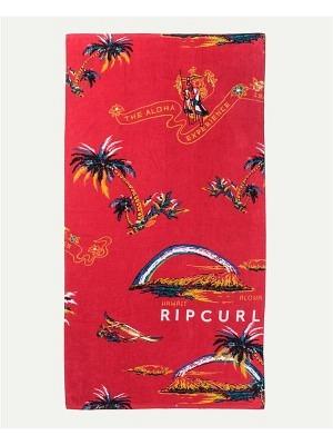 Rip Curl Corpo Towel Bright Red