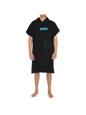 FCS Poncho Towel Black