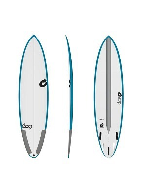 Torq M2-S 6'08 TEC Epoxy Teal Rails