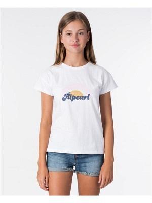 Rip Curl Girl Surf Revival Tee Optical White