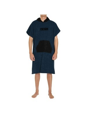 FCS Poncho Towel Navy/Black