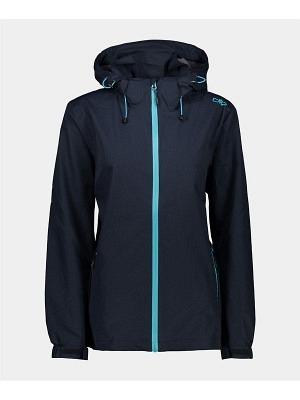 CMP Woman Rain Zip Hood Jacket
