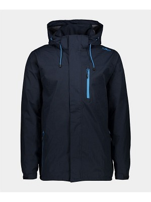 CMP Man Rain Zip Hood Jacket