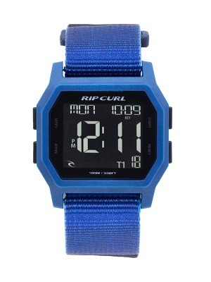 Rip Curl Atom Webbing Digital Watch Blue