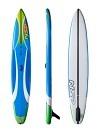 NSP O2 Race FS Inflatable SUP 14'00 x 25 blue