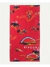Rip Curl Corpo Towel Bright Red bright red