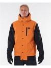 Rip Curl Traction Jacket burnt orange L